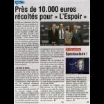 Près de 10.000€ récoltés pour